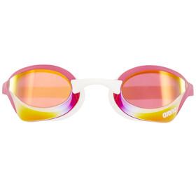 arena Cobra Ultra Mirror Goggles pink revo-pink-white